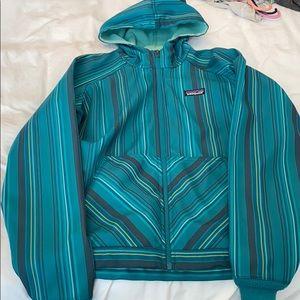 Patagonia lightweight striped jacket
